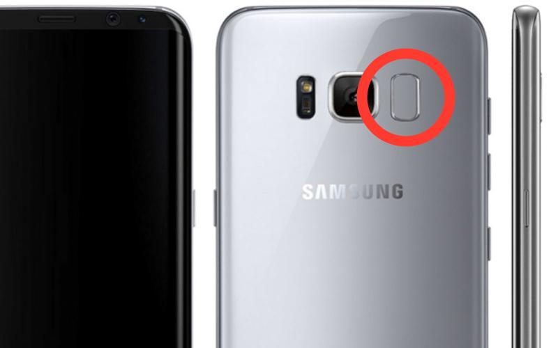 Samsung Galaxy S8 : le lecteur d'empreintes risque de gâcher vos photos