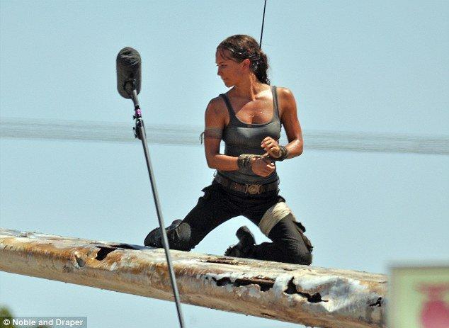 Tomb Raider Tournage