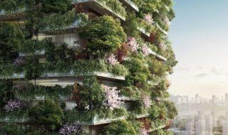 Des immeubles végétalisés