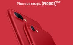Apple vend un nouvel iPhone 7 rouge pour financer la lutte contre le SIDA