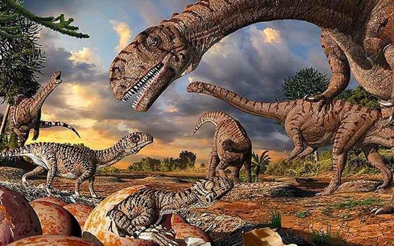 comment dinosaures disparu