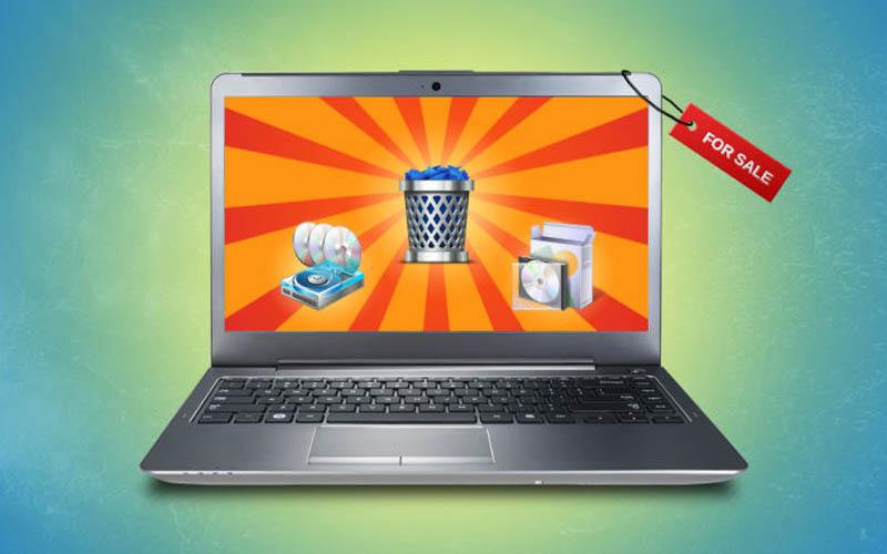 comment vider ordinateur avant vendre