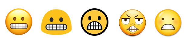 emoji grimace 2