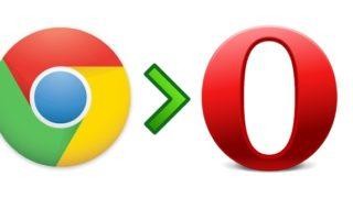 Installer extension Chrome dans Opera
