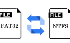 Comment faire passer un disque du format FAT32 au NTFS et vice versa sans le formater?
