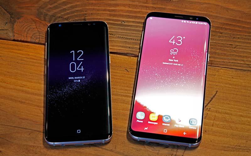 Samsung lance le Galaxy S8 et S8+