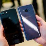 galaxy s8 iphone 7 plus