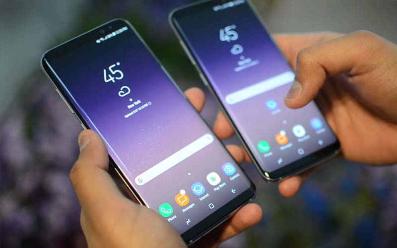 galaxy s8 s8 plus comparaison