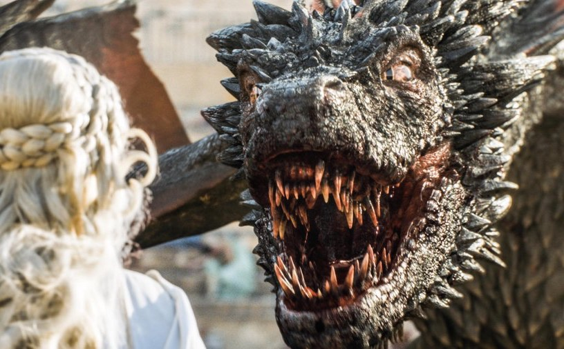 Les dragons dans la saison 7 de Game of Thrones