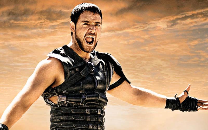 gladiator 2 ridley scott voudrait tourner suite russel crowe