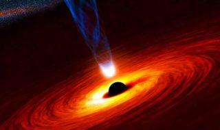 hubble trou noir supermassif echappe centre galaxie