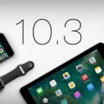 ios 10.3 apple mise à jour nouveautés
