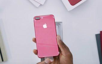 iPhone 7 rouge unboxing : ce déballage et première prise en main vidéo va vous donner envie !