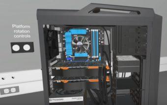 Ce jeu PC vous permet de construire le PC de vos rêves !