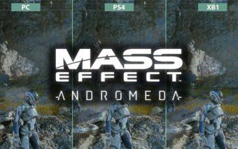 Mass Effect Andromeda : comparatif vidéo des graphismes sur PC, PS4 et Xbox One