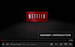 Netflix : enfin des boutons pour ignorer le générique et le récap des séries !