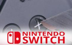 Nintendo Switch : hyper solide, elle résiste bien à la torture, même au cutter !