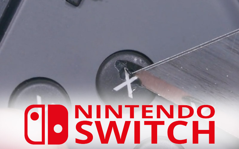 nintendo switch solide resiste torture cutter