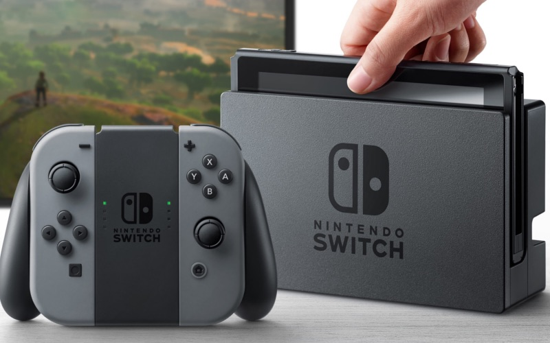 Nintendo Switch sortie officielle