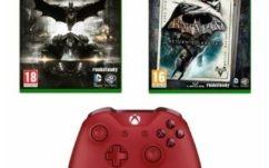 Bon plan Xbox One : Manette rouge sans fil + Batman Return to Arkham + Batman Arkham Knight à 59.99 €