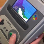 super nintendo portable video