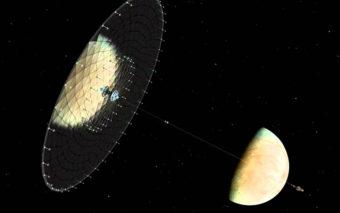 Des vaisseaux spatiaux alien à voiles seraient à l'origine de mystérieux sursauts radio