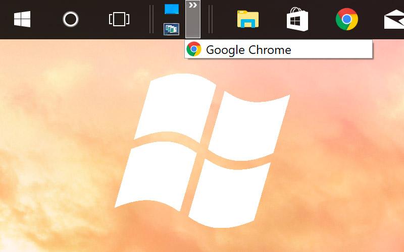 Windows 10 : comment afficher la barre de lancement rapide Windows XP