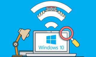 windows 10 comment creer point acces wifi partager internet