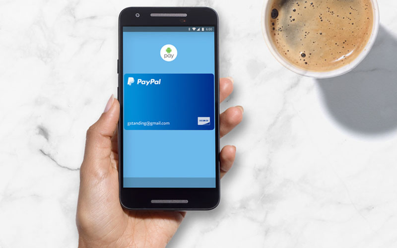how to add paypal to android pay