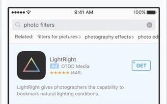 App Store : Apple met désormais des pubs lorsqu'on recherche une application