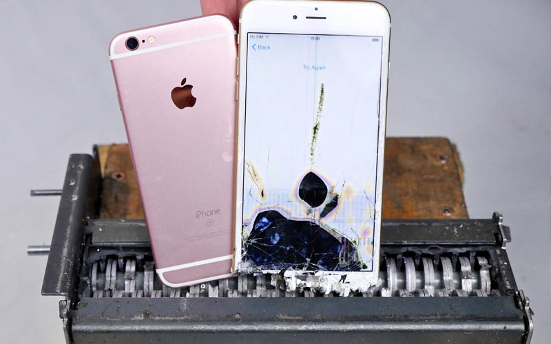 apple iphone recycles detruits