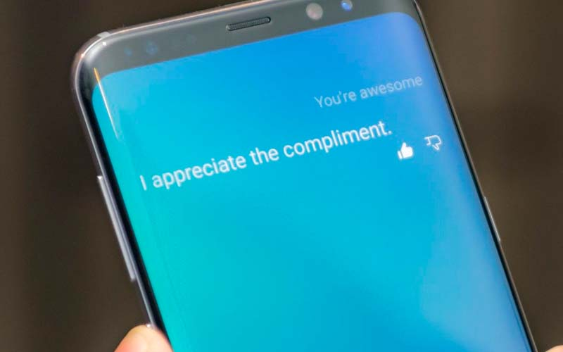 bixby assistant vocal s8