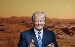 NASA : Donald Trump veut des humains sur mars avant 2025