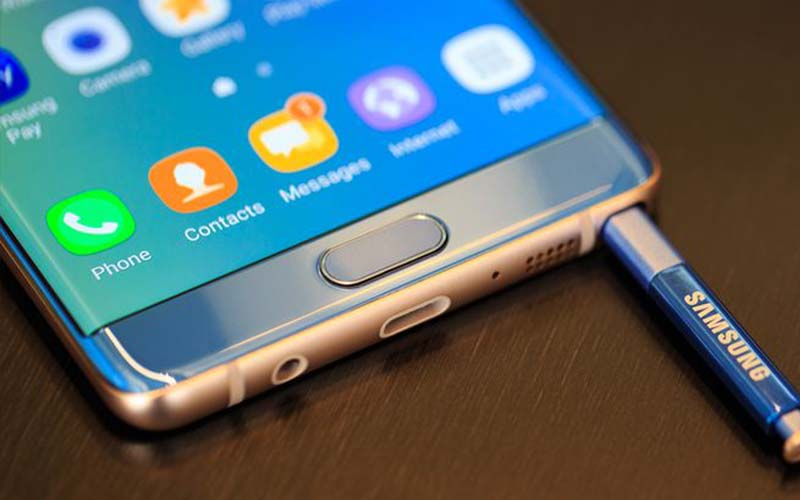 galaxy note 7 reconditionne photo