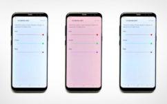Galaxy S8 : la teinte rouge des écrans AMOLED serait presque voulue à en croire Samsung !