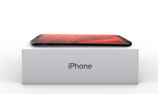 Un concept d'iPhone X