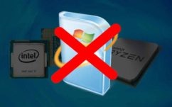 Processeurs Intel Kaby Lake et AMD Ryzen : Windows 7 et 8.1 ne recevront plus de mises à jour