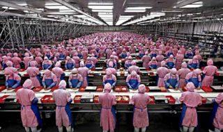 iphone 7 usines assemblage