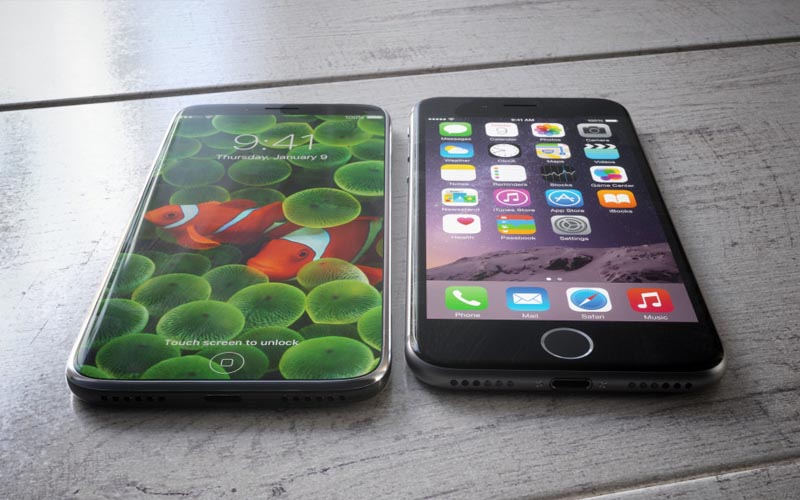 iphone 8 schema touchid recharge sans fil