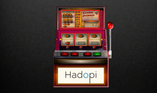 Hadopi - Machine sous téléchargement illégal