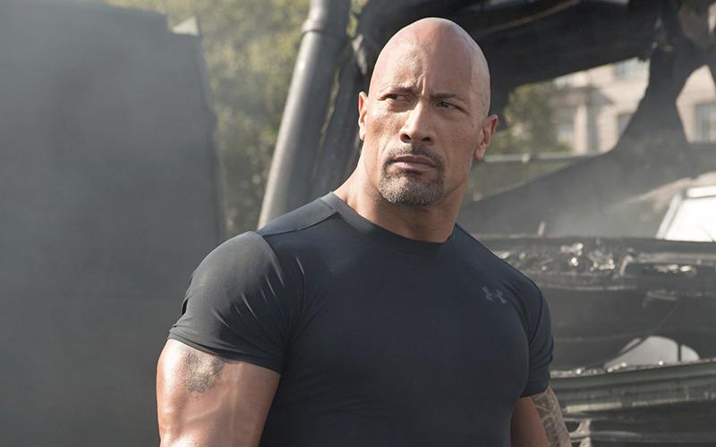 Dwayne Johnson dans Man of Steel 2