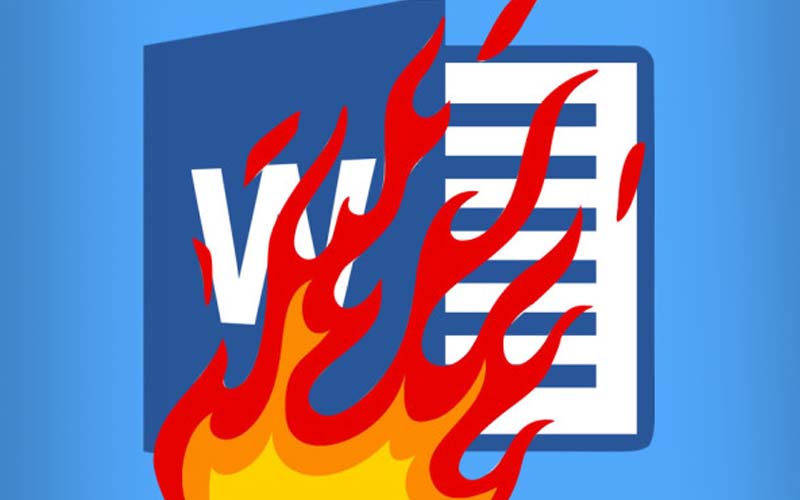microsoft office word faille securite