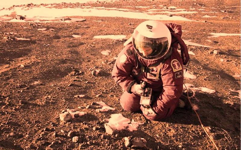 Premiers colons sur Mars briques