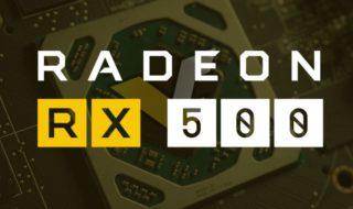 Radeon RX 550, 560, 570 et 580