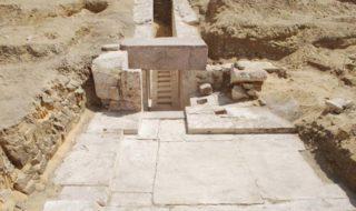 restes pyramide egypte