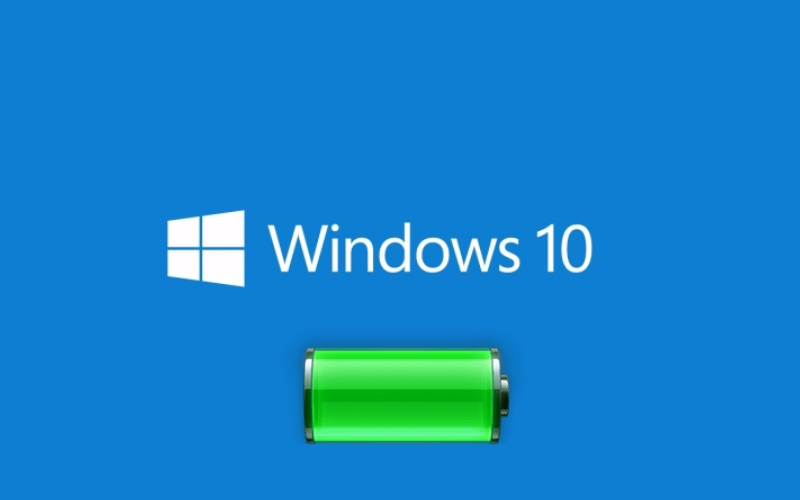Windows 10 batterie