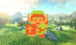 Zelda Breath of the Wild: un fan crée une séduisante version NES, en vidéo