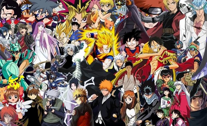 tous les manga anime