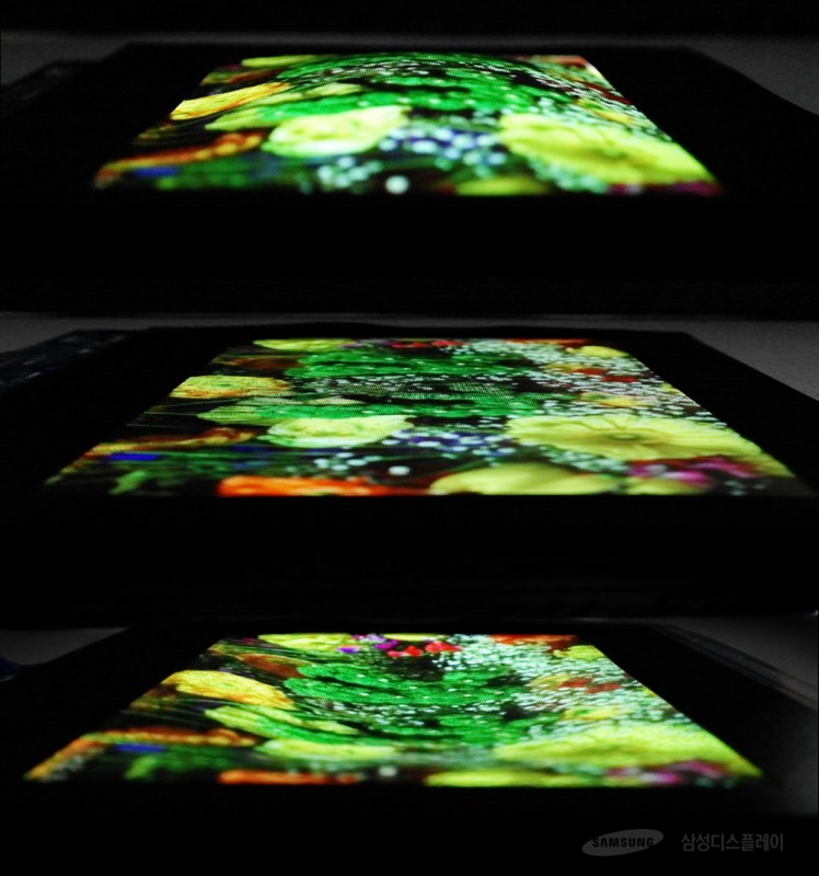 Stretchable-OLED-new-samsung-screen