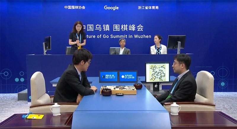 L'intelligence artificielle de Google bat le numéro un mondial du jeu go